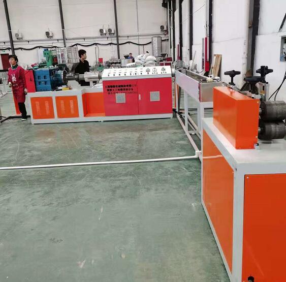 钢塑格栅焊接设备